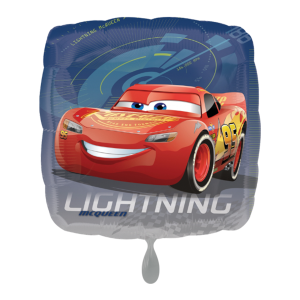 Folienballon Cars Lightning Mc Queen, 45 cm