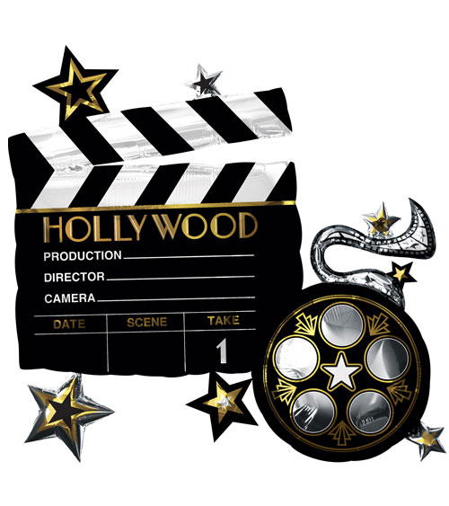 Folienballon Filmrolle Hollywood